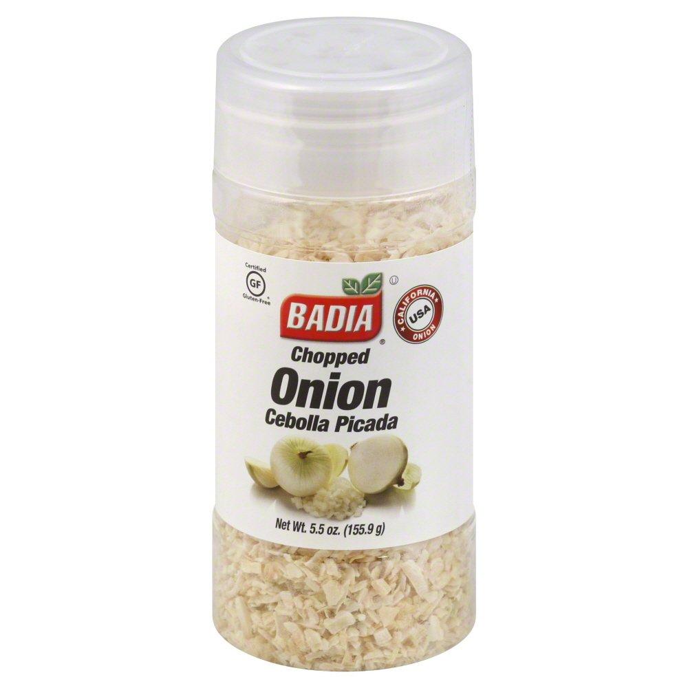 BADIA Onion Chopped 5.5 oz(Pack of 1)