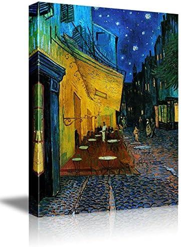 Cafe Terrace at Night Vincent Van Gogh Wall Decor