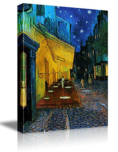 Cafe Terrace at Night by Vincent Van Gogh Oil Painting Reproduction