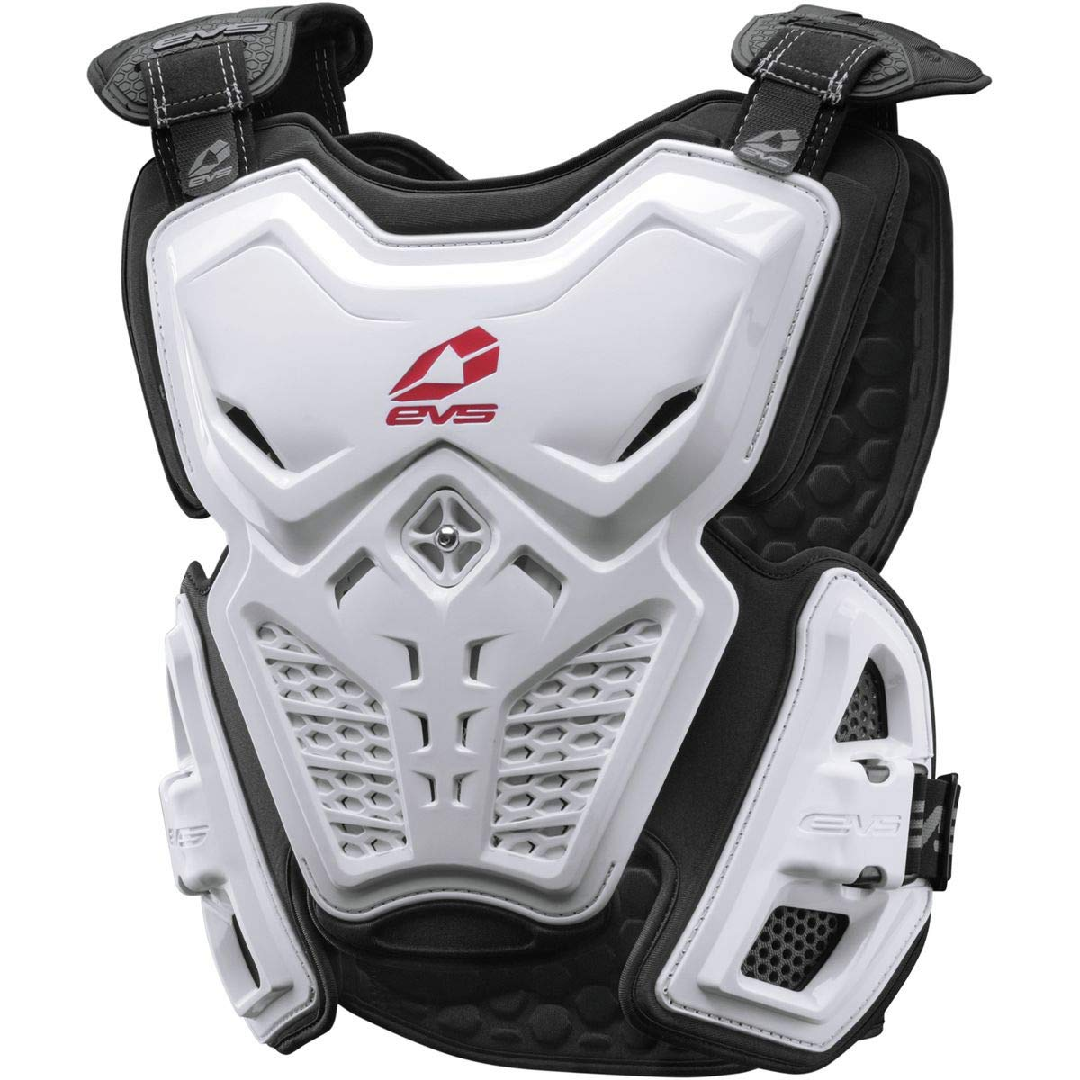EVS Sports Men's F2 Roost Deflector (White, Large)