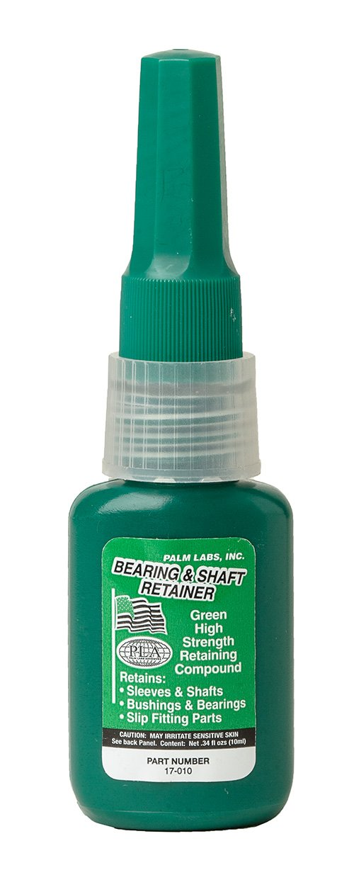 Bearing & Shaft Retaining Compound - Oil Resistant Close/Press Fit - Series 17-OR - Equivalent to Loctite 603. 10ml Bottles - Case of 12 by Turbo-Lock (Image #1)