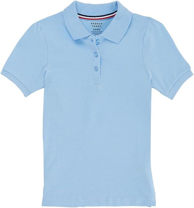 French Toast Mujer SA9403J Camisa Polo - Azul - Small: Amazon.es ...