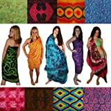 Sarongs - Floral, Celtic, Tie Dye. We Pick the Sarong. Our Best Stock! Gift