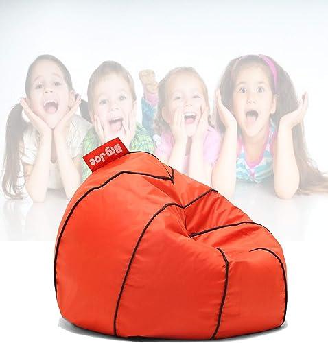 Basketball Bean Bag Chair Kids Comfy Dorm Teens Room Furniture College Seat Play