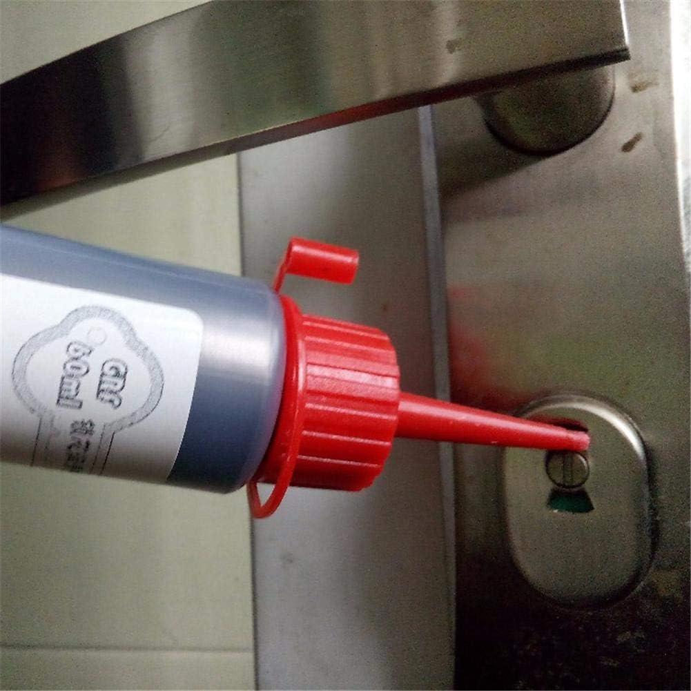 Perfectshow - Lubricante líquido de Polvo de Grafito Nano de 60 ML para cerraduras, Puertas correderas, bisagras, Cubierta de Motor de Puerta de Coche, núcleo de Cerradura: Amazon.es: Hogar