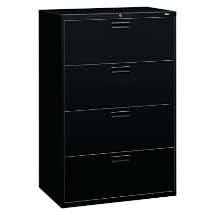 HON 4 Drawer Office Filing Cabinet   500 Series Lateral File Cabinet,  19.25u0026quot;