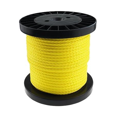 Seil Dyneema PRO 5mm 40m geflochten gelb