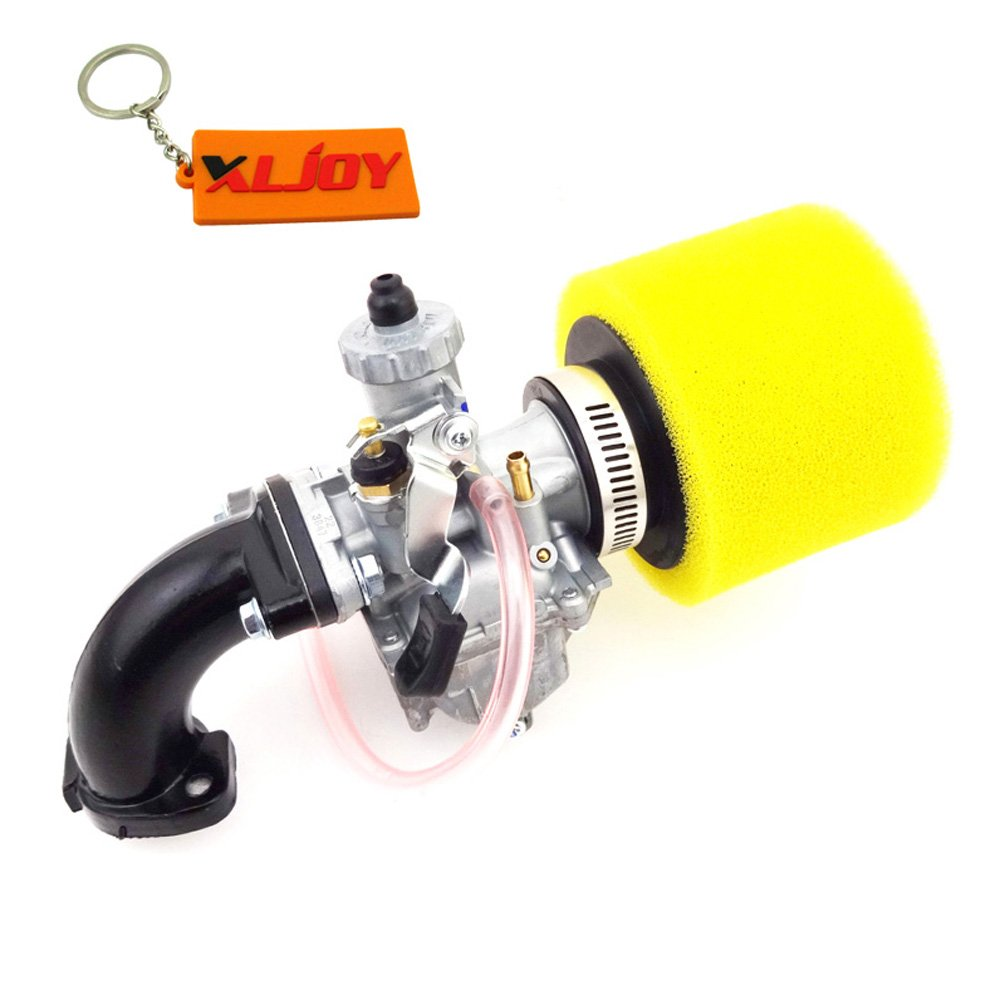 XLJOY Mikuni VM22 Carb 26mm Carburetor Intake Pipe For Pit Dirt Bike 110cc 125cc Lifan YX
