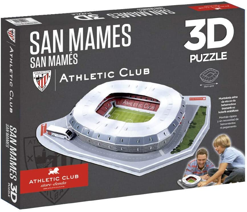 Athletic Club Bilbao Puzzle Estadio 3D San Mamés (Athletic Club ...