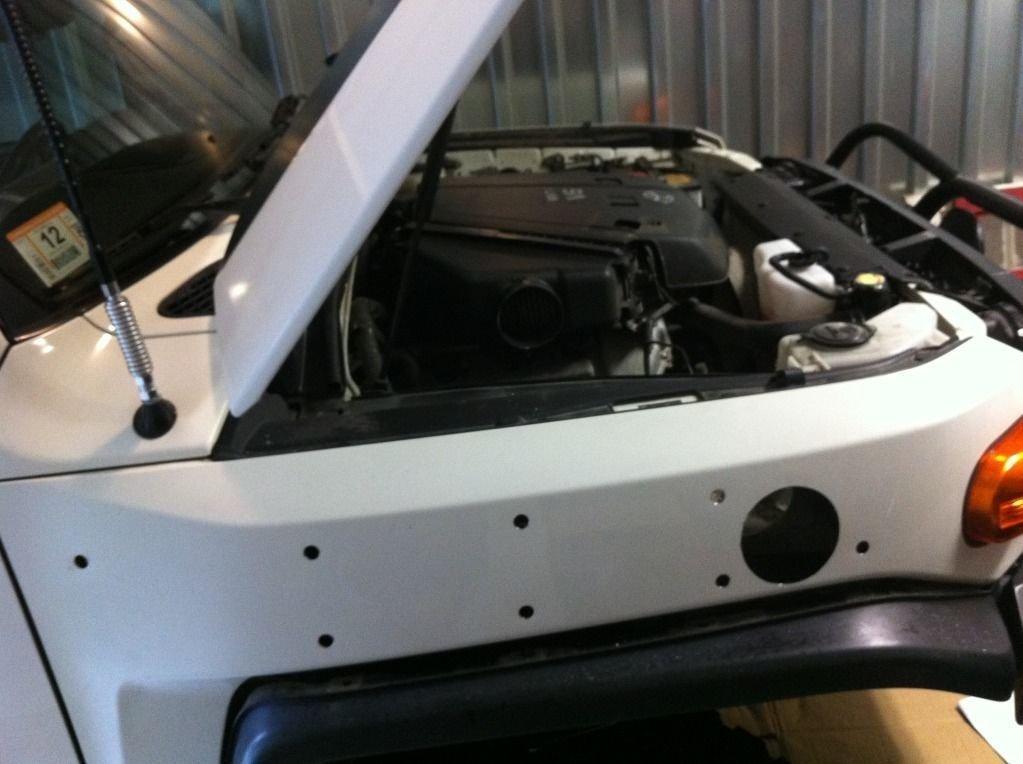 Air Intake Snorkel Kit For 2007-2012 Toyota FJ Cruiser 1GR