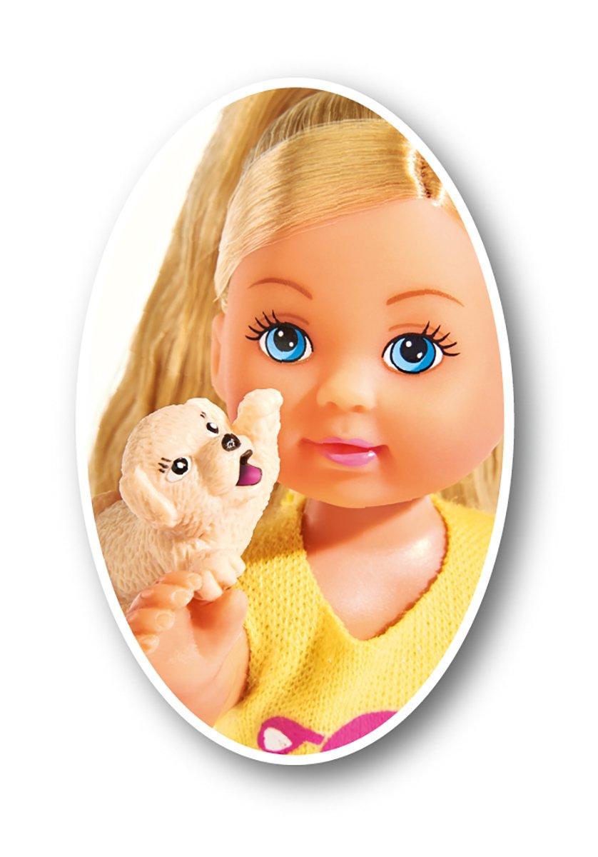 Simba 105733041 105733041-Evi Love Puppe mit Welpen