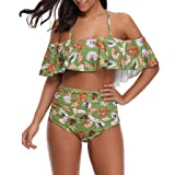 succeedtop Swimwear for Women's Bohemia Print