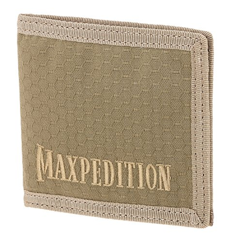 Maxpedition BFW Bi Fold Wallet, Tan ()