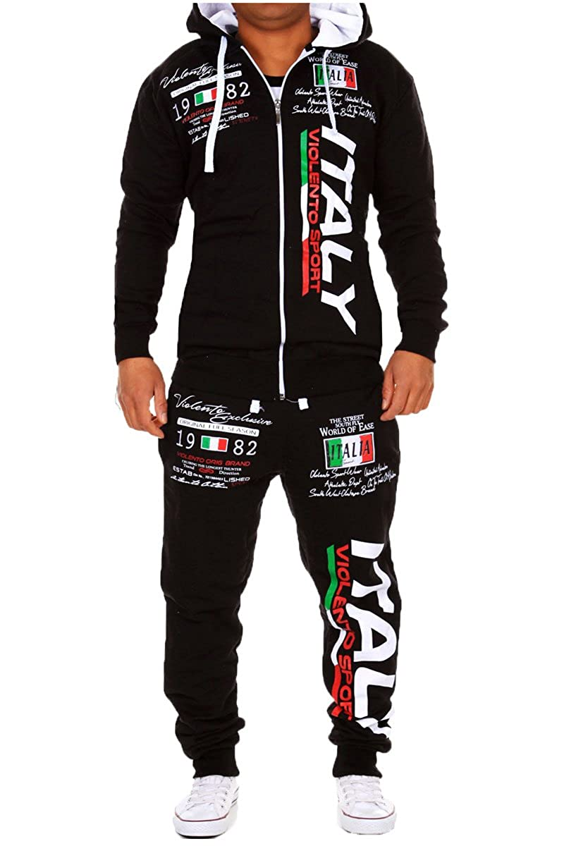 Bella Italia and Germany Men's Tracksuit Trousers And Top Set 2079