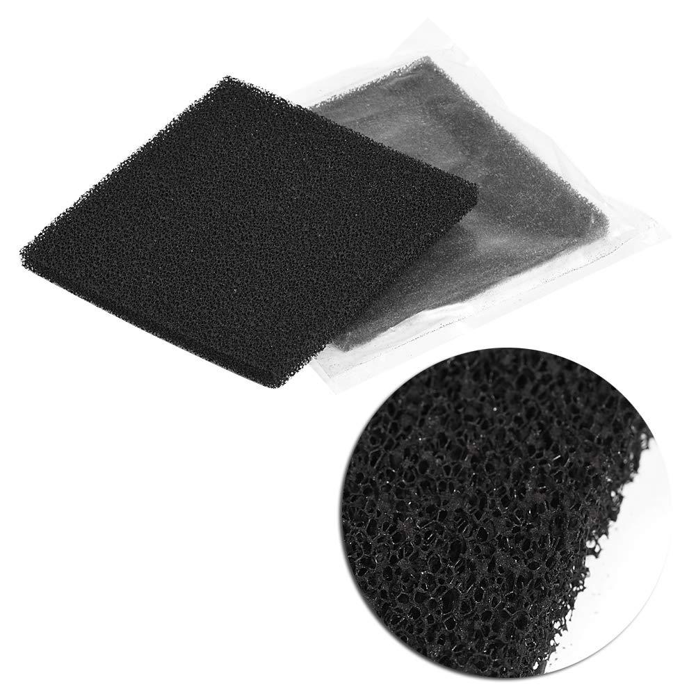 Juego Filtro assorbitore de humo de esponja a carbón activo cuadrado negro 10pcs para soldar: Amazon.es: Bricolaje y herramientas