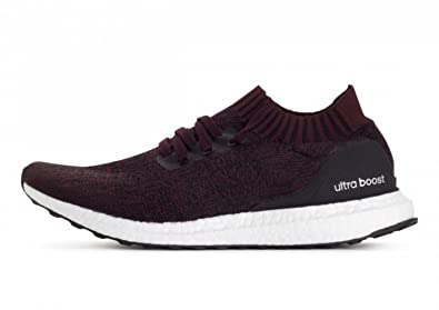 new arrival b78a4 4c360 adidas Ultraboost Uncaged Mens Running Trainers (UK 3.5 US 4 EU 36, Black  Purple