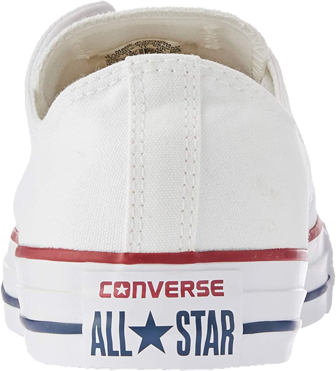 Converse Optical White 7652 Lo Top (10 (Men) / 12 (Women) US) Bianco Bianco Ottico U59XPP