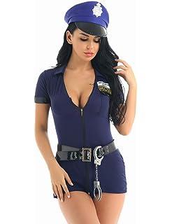 Guirca- Disfraz adulta policía, Talla 38-40 (88295.0 ...