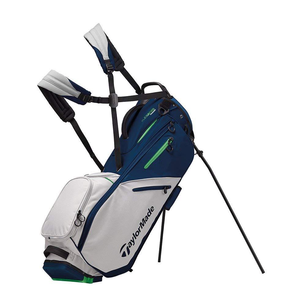 TaylorMade 2019 Flextech Stand Golf Bag, Navy/Gray