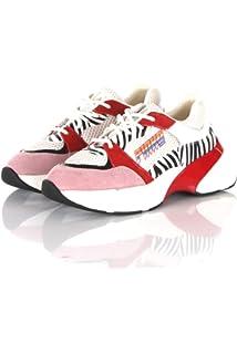 3d855879da6 Pinko Women's Rubino Sneaker Rete Tecnica Gommato Slip On Trainers ...