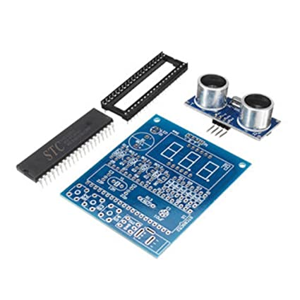 Tradico® DIY Ultrasonic Ranging Module Radar Alarm Kit Based on 51