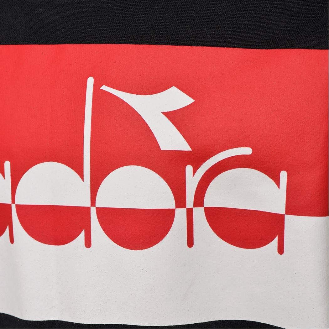 Diadora JB HOODIE SWEAT 5 PALLE FELPA CAPPUCCIO MAGLIA BAMBIN0 UNISEX 102.176496