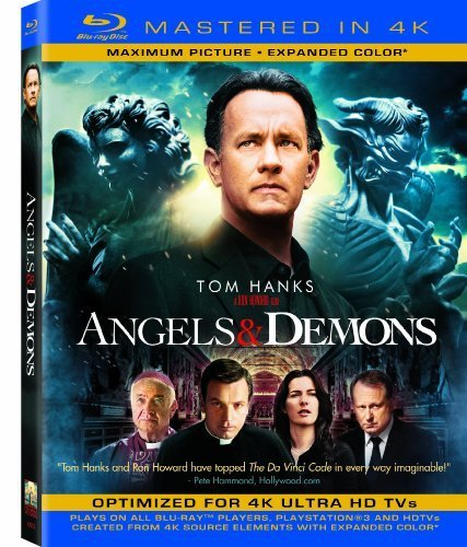 Angels & Demons (Mastered in 4K) (Single-Disc Blu-ray + Ultra Violet Digital Copy) by Sony Pictures Home Entertainment