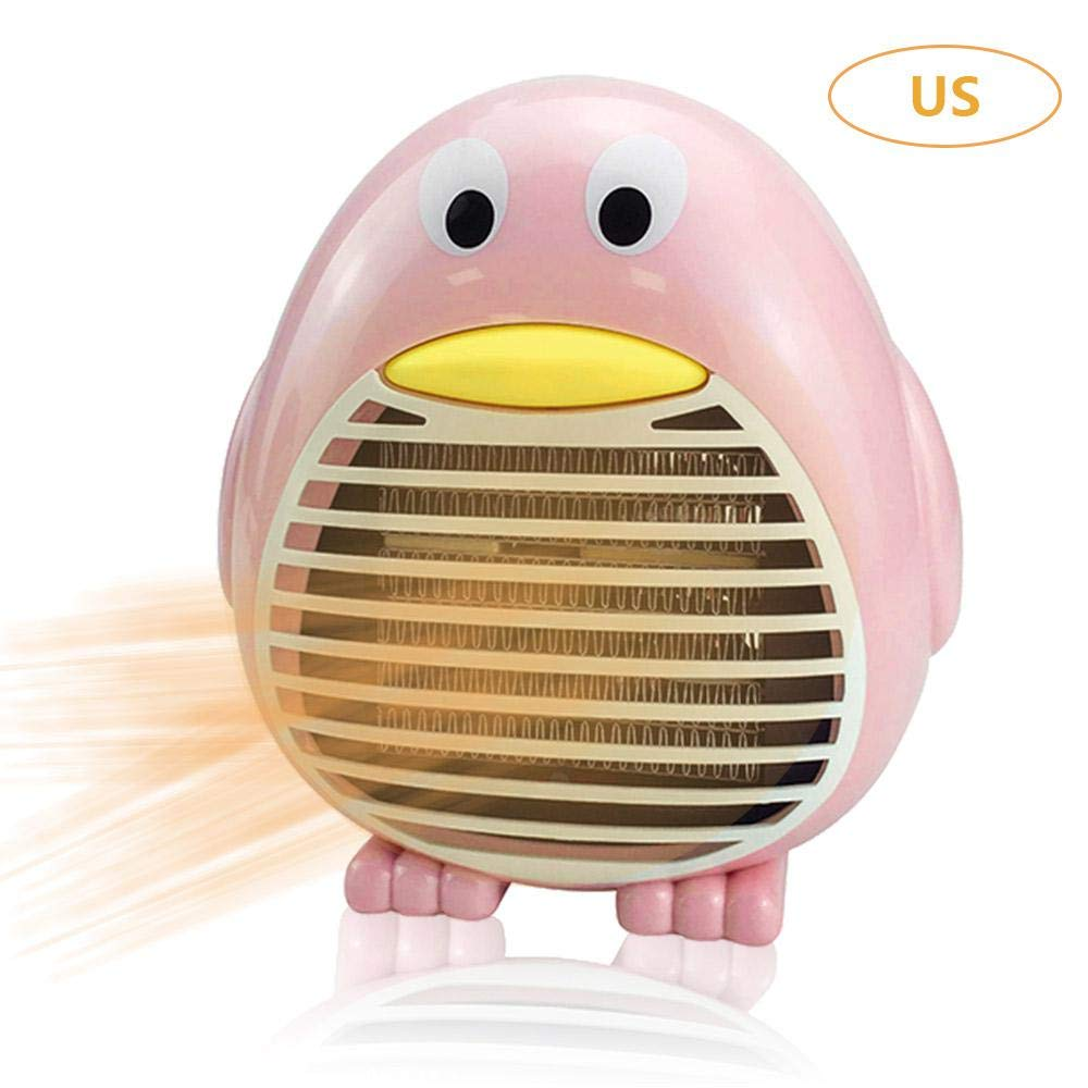LayOPO Space Heater, Heater Fan, with PTC Ceramic Heating Element 3-Second Fast Heating and Overheating Protection, Suitable for Office, Living Room, Tabletop and Indoor Use