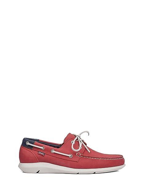 Callaghan 14400 Mocasin Hombre Rojo 43: Amazon.es: Zapatos y complementos