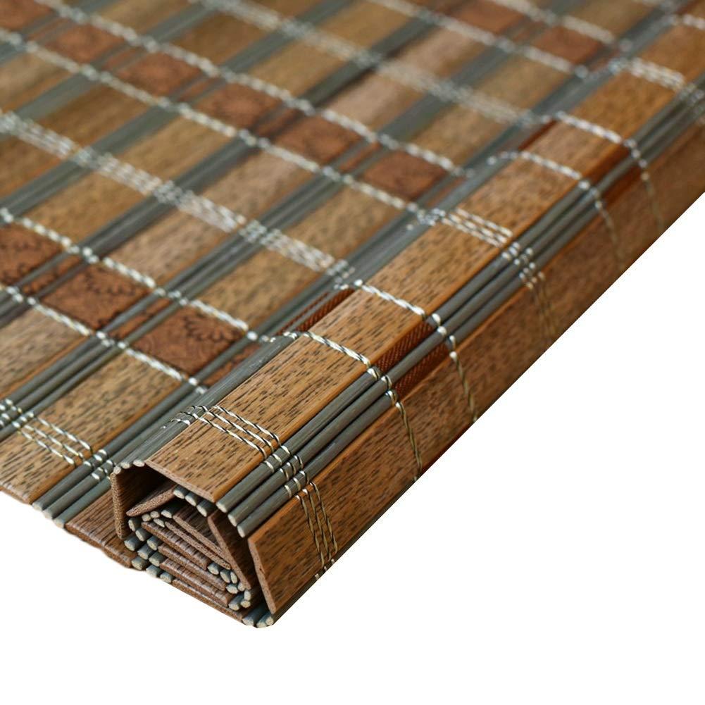 JIANFEI 竹ブラインド竹材 アンチサン 光フィルタリング ローラーブラインド 、3色 、24サイズ カスタマイズ可能 (色 : 2#, サイズ さいず : 120x220cm) 120x220cm 2# B07RVL4KW8