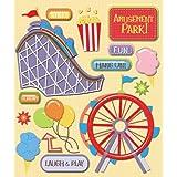 K&Company Amusement Park Sticker Medley