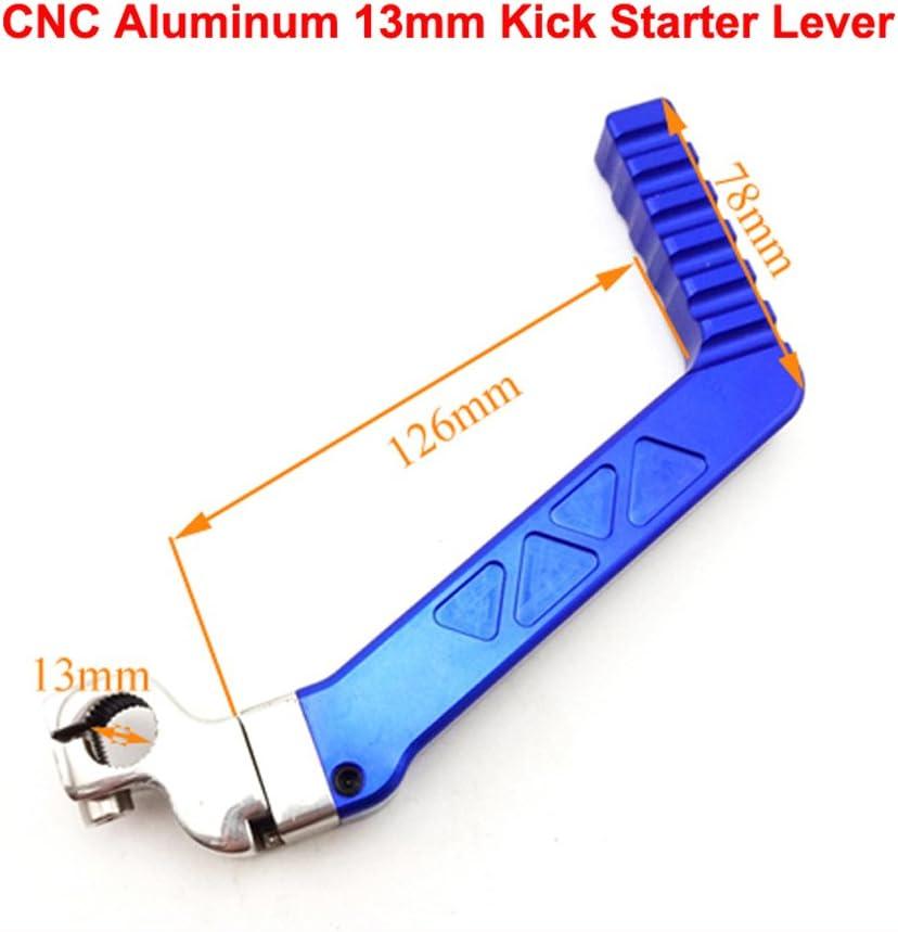 13mm CNC Kick Start Starter Lever For 50 110 125cc YX Lifan Engine Pit Dirt Bike