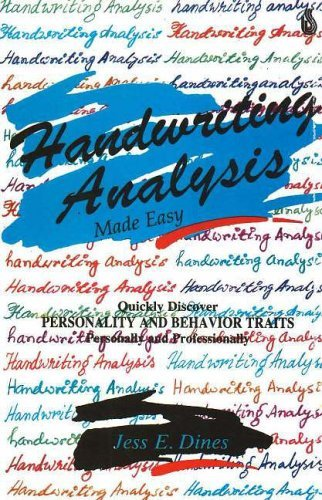 Handwriting Analysis: Made Easy by Jess E. Dines (2003-01-01) by Sterling Publishers Pvt.Ltd
