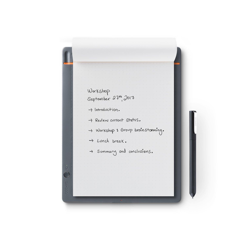 Wacom Bamboo Slate Smartpad Digital Notebook, Small (A5/Half Letter Size), CDS610S by Wacom