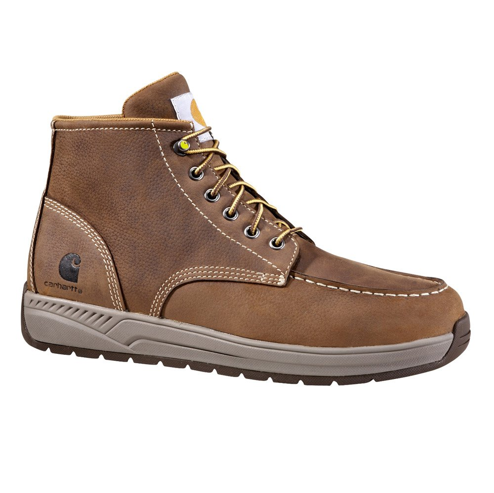 Carhartt Men's CMX4023 4'' LTWT PT Moctoe Caswedge Work Boot, Brown, 9.5 M US