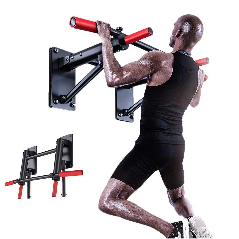 家の体操の練習のための上昇したポーランド人(8本のねじ)が付いているドアの引き棒の頑丈なドアのトレーナーの安定した調節可能な幅   B07PLPCMBG