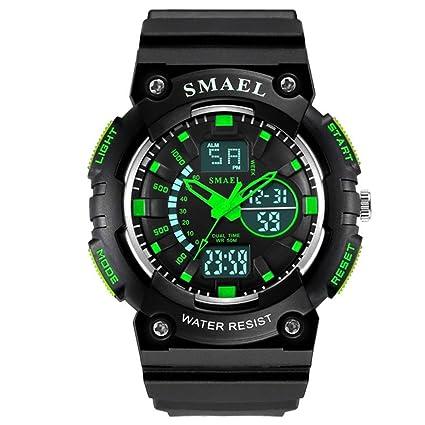 JBP Max Mens Deportes Impermeable Reloj Multi-Función Reloj Digital Niños Reloj De Escuela Primaria