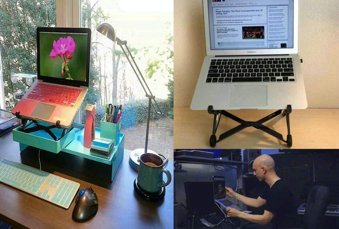Igemy Nexstand Portable Lift Klapp Desktop Einfache Notebook Stand MagicHold H/öhenverstellbarer Laptop St/änder MacBook Halterung Schwarz