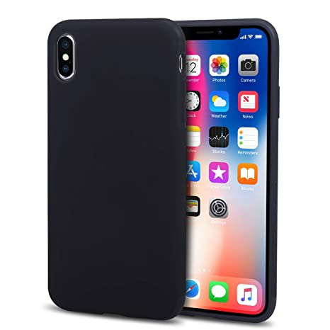 coque iphone x silicone liquide