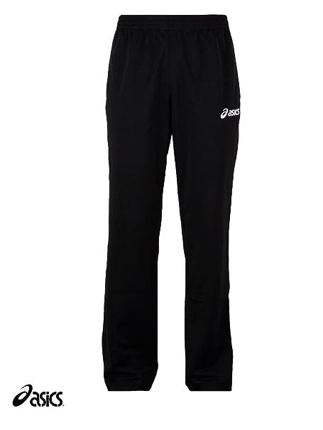 ASICS Pantalón de chándal para Hombre Negro Pantalones Deporte ...