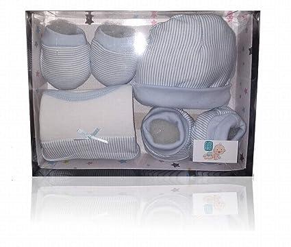 Set pack primera puesta bebé, regalo recién nacido, 4 piezas, 100 ...