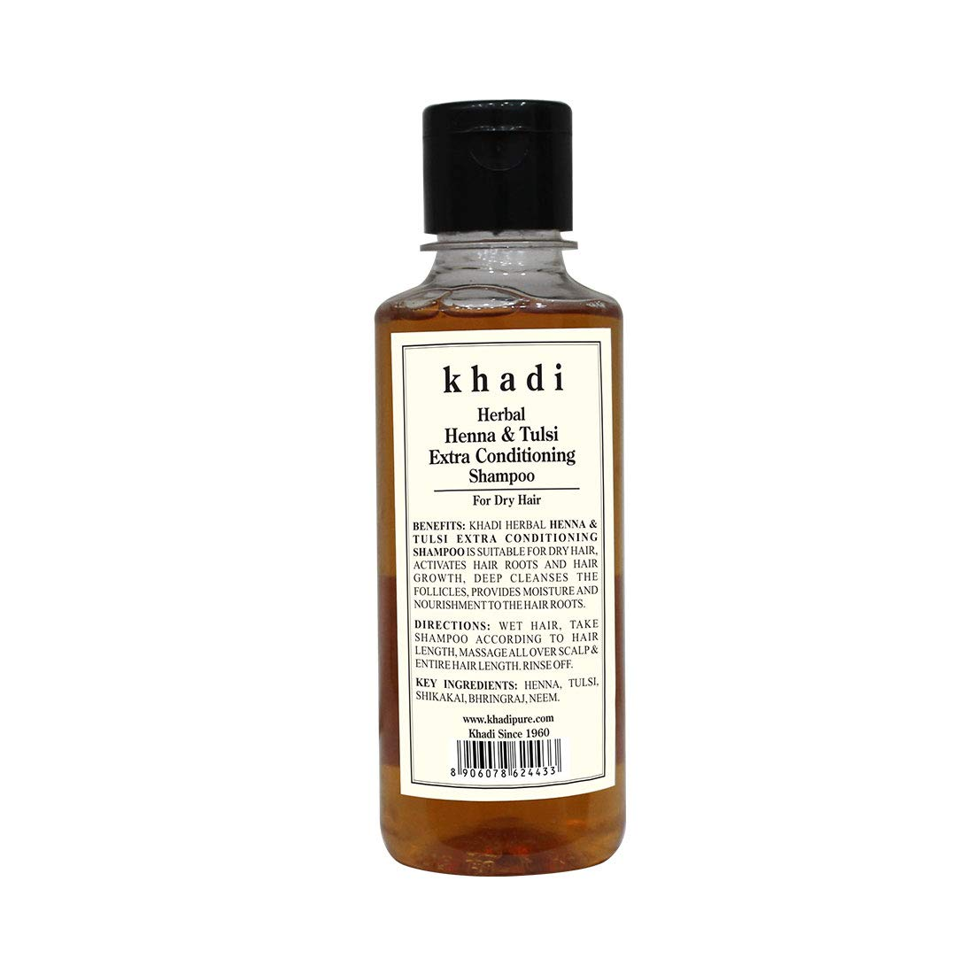 Buy Khadi Herbal Henna Tulsi Extra Conditioning Shampoo 210ml