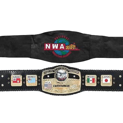 amazon com n w a wrestling world heavyweight championship ultra