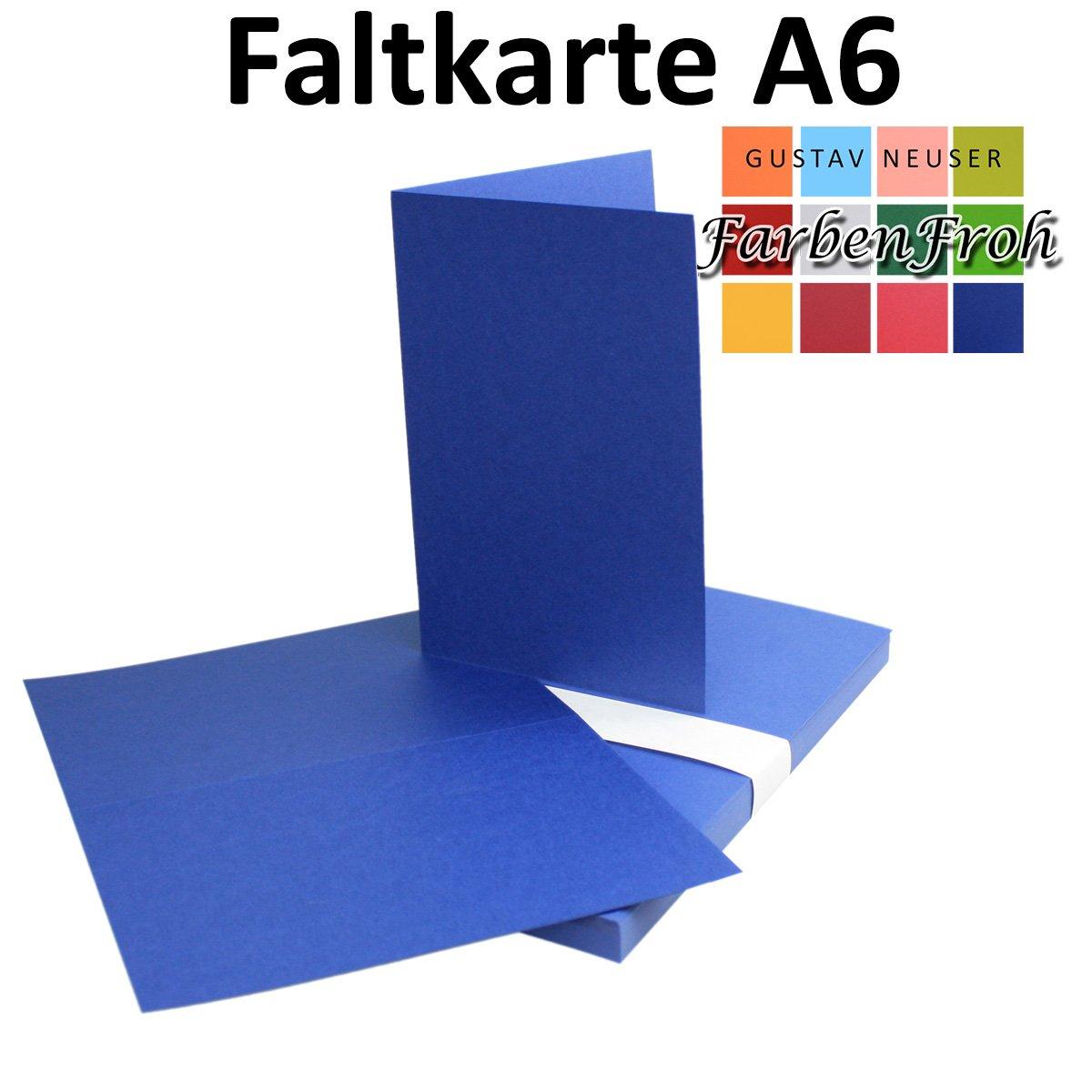 250x Falt-Karten DIN A6 Blanko Doppel-Karten in Hochweiß Kristallweiß Kristallweiß Kristallweiß -10,5 x 14,8 cm   Premium Qualität   FarbenFroh® B06Y3WZDLM | Eleganter Stil  bb1b33