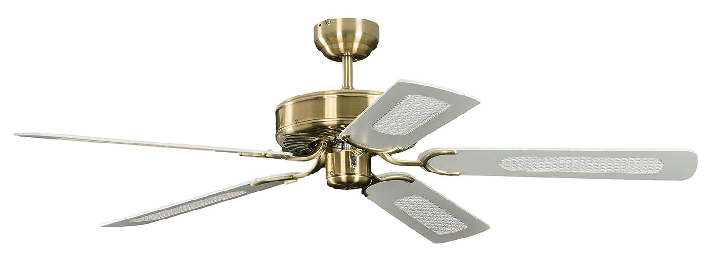 58 W 132 cm Pepeo GmbH 1334201232 Ventilatore da Soffitto Potkuri 240 V Quercia