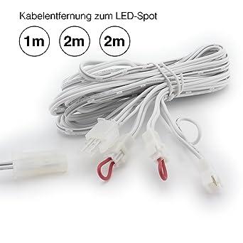 Kabelbaum für dimmbare LED-Einbaustrahler (LED-Spots), LED ...