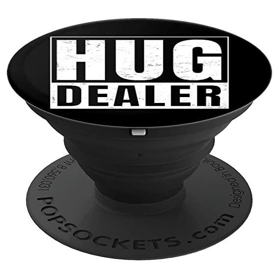 Amazon com: Hug Dealer I Free Hugs - PopSockets Grip and
