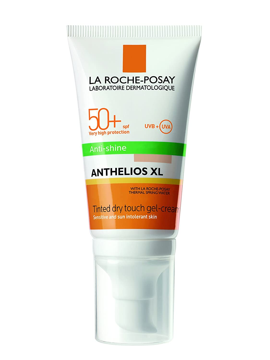La Roche Posay Anthelios XL Gel Crema Antibrillos Tacto Seco Con Color SPF50+, 50ml