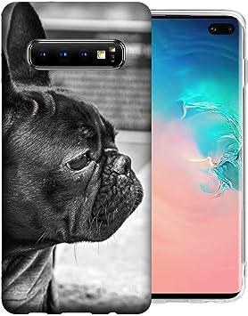 Coque Samsung Galaxy S10 Bouledogue Français TPU Gel Case Cover ...