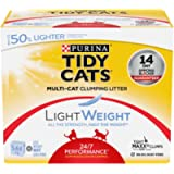 Tidy Cats 24/7 Performance Lightweight Cat Litter for Multiple Cats - 5.44 kg